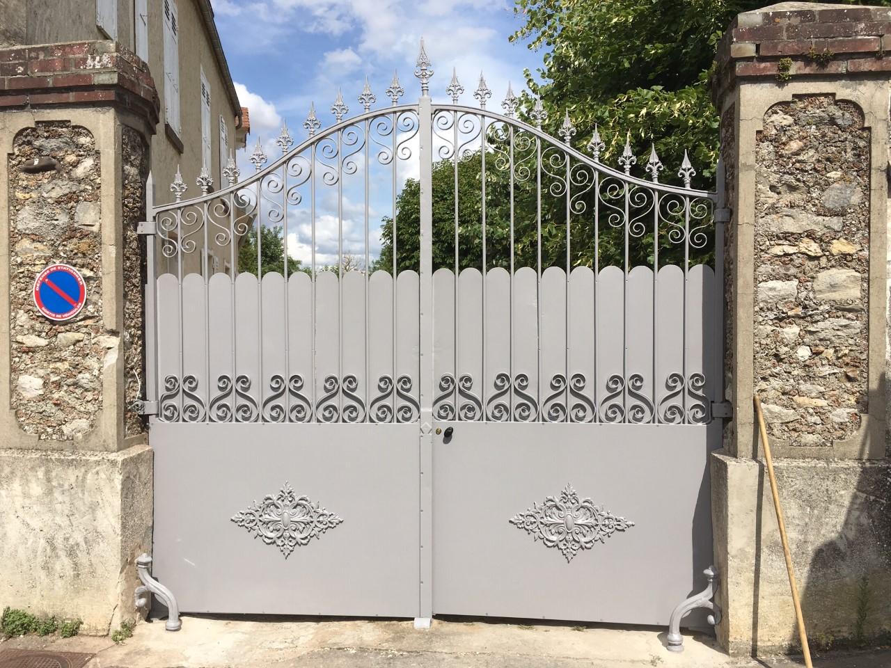 réfection portail 4